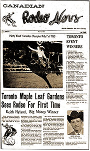 Canadian Rodeo News - 1964