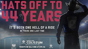 Hats Off to 44 Years - Northlands Colliseum