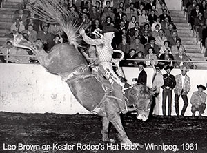 Leo Brown - Saddle Bronc