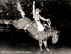 Mel Hyland - Canadian & World Champion bronc rider