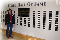 Mel Hyland - Pro Rodeo Hall of Fame inductee