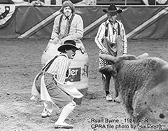 Ryan Byrne - NFR bull fighter