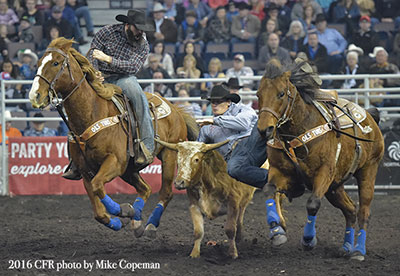 Cody Cassidy - 2016 Canadian Steer Wrestling Champion