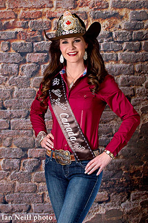Miss Rodeo Canada 2017 - photo by Ian Neill