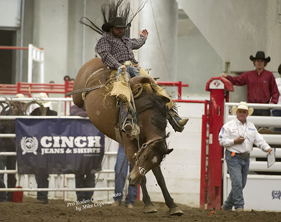 Josh Harden on Kesler Rodeo's Gone Country - Copeman photo